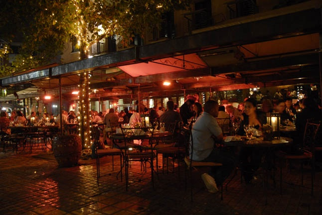 out and about at moyo Melrose Arch