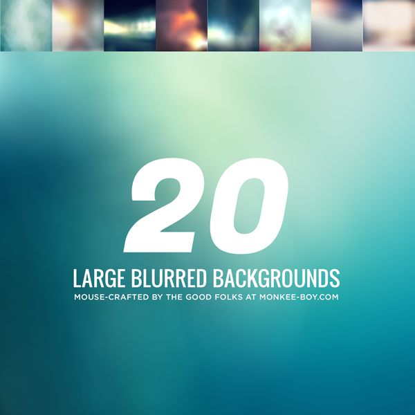 Freebie Friday! 20 large 1600×1600 blurred and slightly textured backgrounds. Free for personal and commercial use, enjoy and share! #design #resources #backgrounds #psd