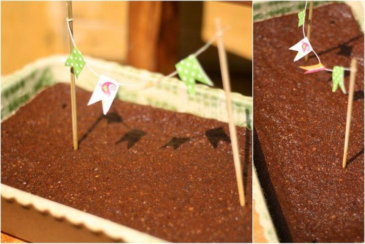 U nás na kopečku: ... čokoládovo-mandlový dezert bez mouky ...
