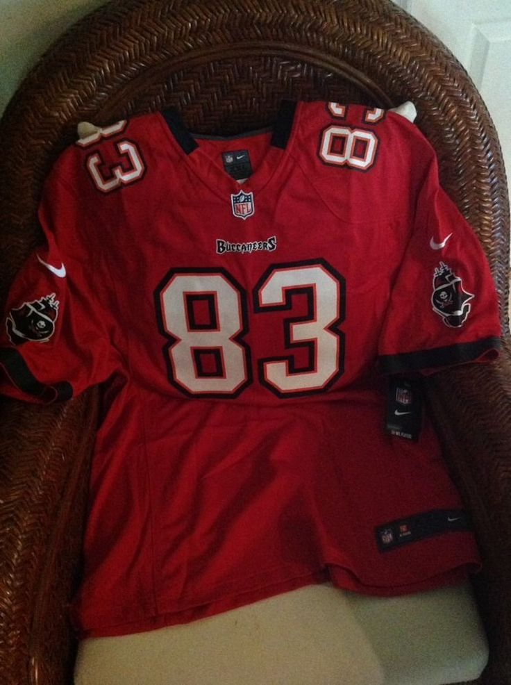 Tampa Bay Buccaneers Vincent Jackson 83 Red Football