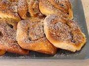 Osie hniezda - recept na koláče - škoricové Osie hniezda