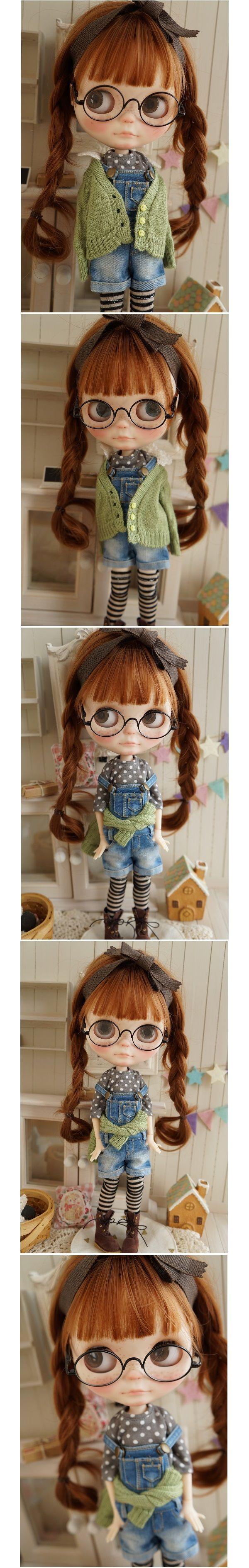 ***カスタムブライス*** Custom Blythe***めがね*** - Auction - Rinkya