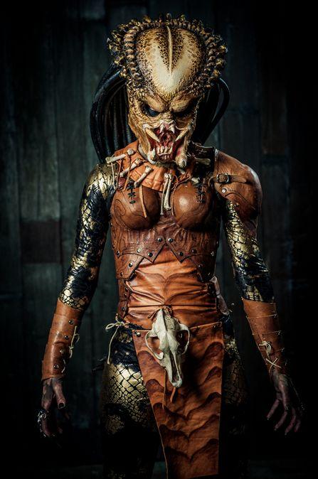 Female Predator   Ropecon 2013 #costumes #cosplay