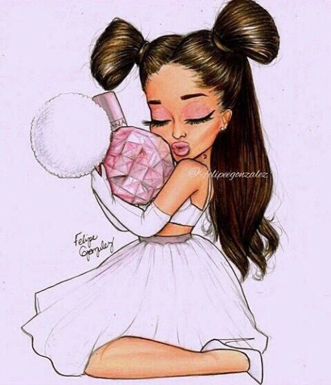 Best Ariana Grande Cartoon Drawn Pics