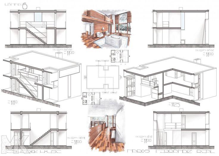 Markitecto » ESHERICK HOUSE | Margaret Esherick House | Pinterest | Esherick  House