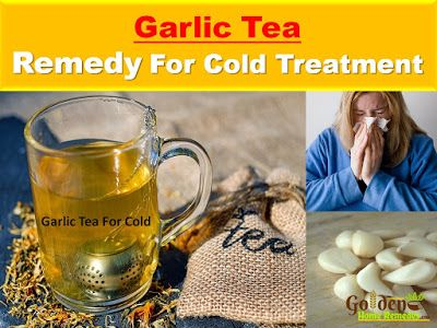 how to get rid of cold with garlic