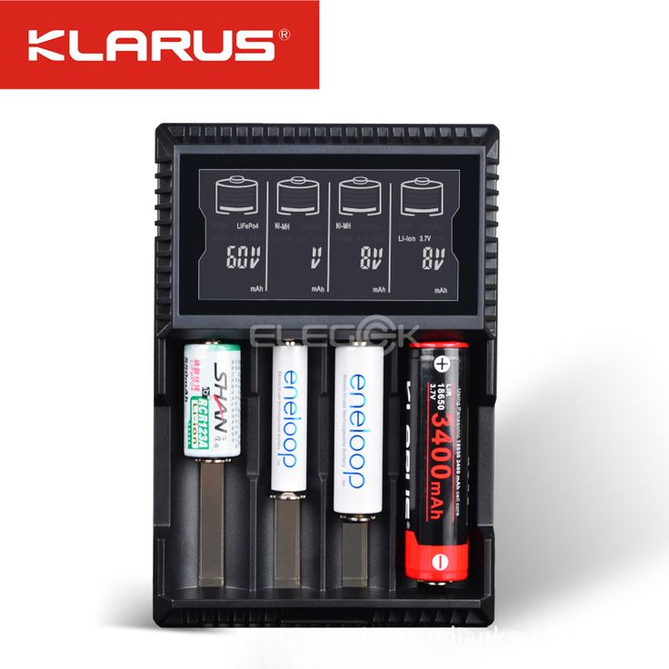 >> Click to Buy << Klarus CH4S 18650 Battery Charger AA AAA 14500 26650 CRC123A C Battery Desulfator Cargador 18650 Charger EU UK AU US Adapter #Affiliate