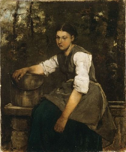 Munkácsy Mihály (1844-1900) Lány a kútnál