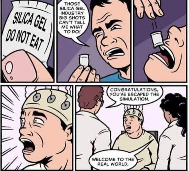 Silica Gel Funny Edgy Memes Silica Gel