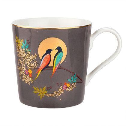 The Chelsea Collection Grey Birds Mug