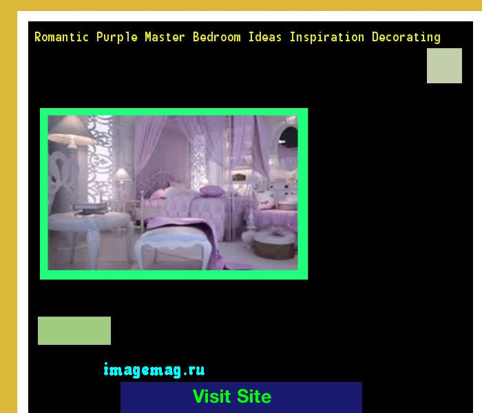 Romantic Purple Master Bedroom Ideas Inspiration Decorating 093646 - The Best Image Search