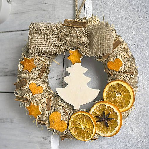 Cinnamon and orange Christmas