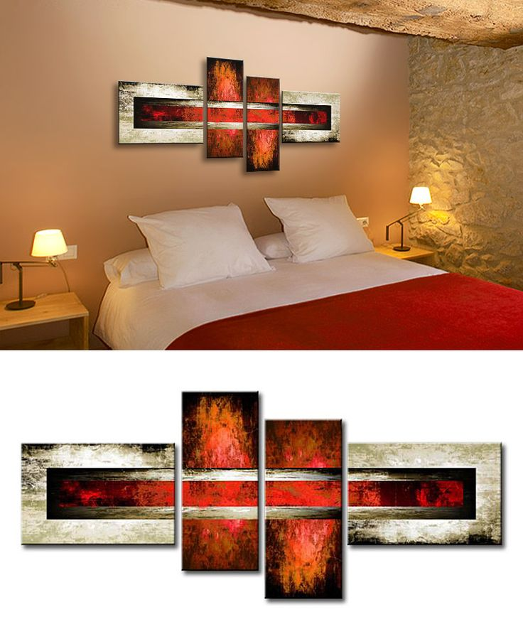 MA_001 / Cuadro Abstracto rojo