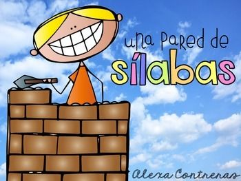 Una Pared de Sílabas {Syllable Activities in Spanish}