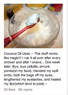 coconut oil uses! crazy how many uses it has!