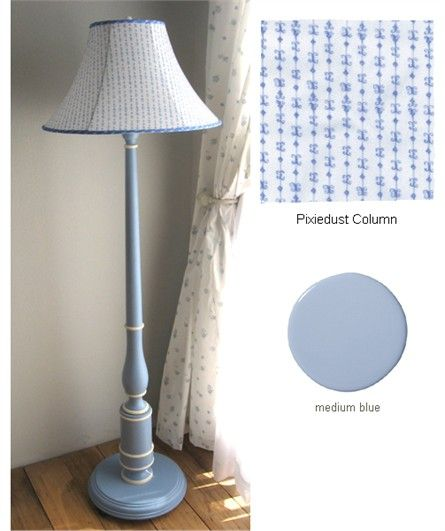 @rosenberryrooms is offering $20 OFF your purchase! Share the news and save!  Column Blue Floor Lamp #rosenberryrooms