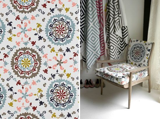 Lovely textile designs available from Beach House DECOR Studio - www.beachhouse.co.za