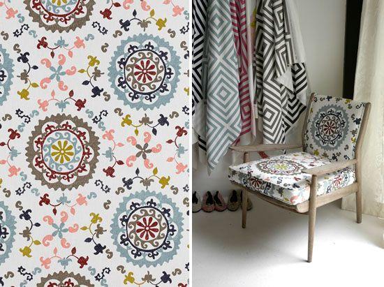 Lovely textile designs available from Beach House DECOR Studio - www.beachhouse.co.za