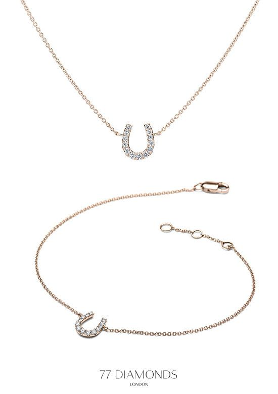 Plenty of good luck and sparkle with our Horse Shoe collection!