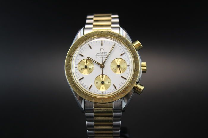 Catawiki online auction house: Omega Speedmaster Reduced – ref. 1750033 – Men's watch – From 1996