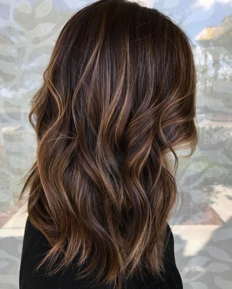 60 Looks with Caramel Highlights on Brown and Dark Brown Hair in 2020 | Brown balayage, Brown hair balayage, Brown blonde hair