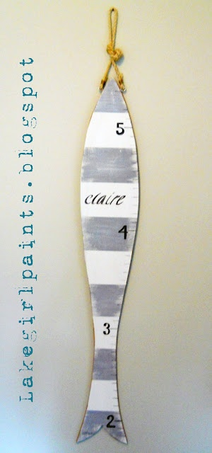 Fish Growth Chart  @- Lake Girl Paints