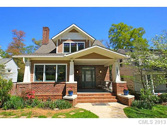55 best charlotte neighborhoods images on pinterest for Craftsman homes in charlotte nc