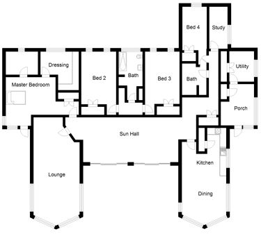 Contemporary Self Build House Plan Self Build Co Uk