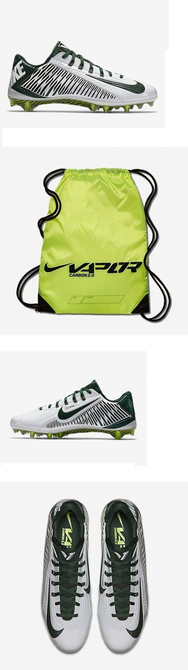 Men 159116: Men S Nike Vapor Carbon Elite Td Low Football Lacrosse Cleats W Bag Shoes 9 -> BUY IT NOW ONLY: $62.95 on eBay!