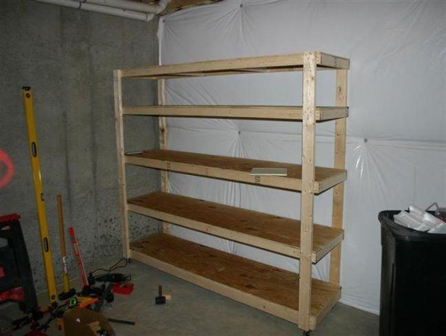 Garage Shelves 2x4 Google Search Home Pinterest