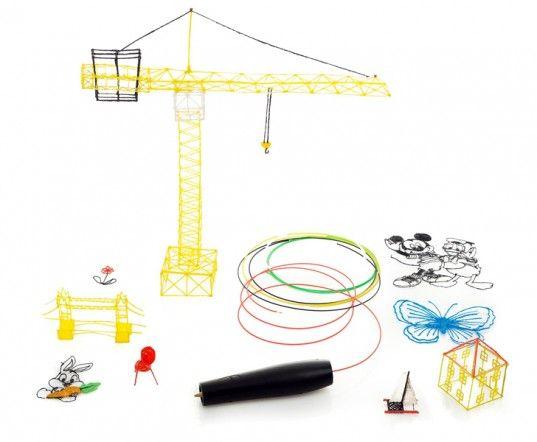 swissPen, 3D printing, 3D printers, 3D printing pen, art, design, doodling, 3Doodler, gadgets, plastic