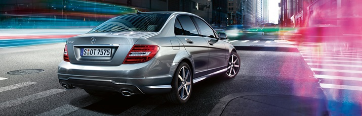 Mercedes-Benz C-Class. Take the strain out of driving.