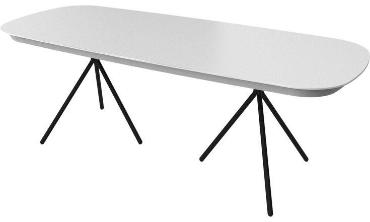 Mesas de jantar - mesa Ottawa com tampo suplementar - BoConcept