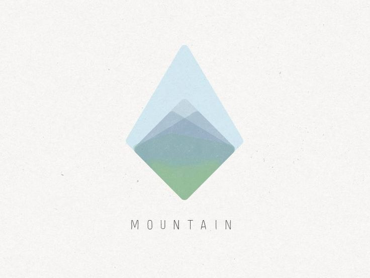 Mountain Logo by Gregory David Jenkins #logo                                                                                                                                                                                 More