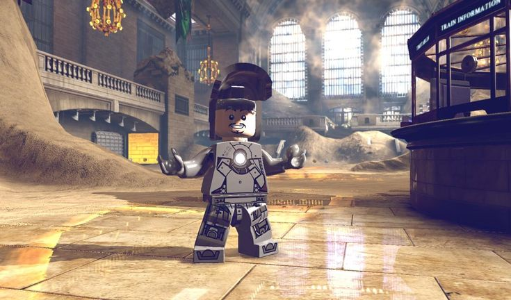 New Lego Marvel Video Game Character Images: Tony Stark/ Iron Man