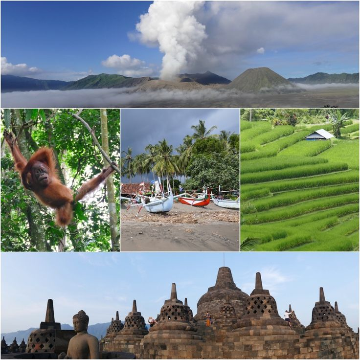 Bali, Java, Sumatra