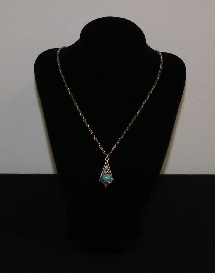 blue indian neckless