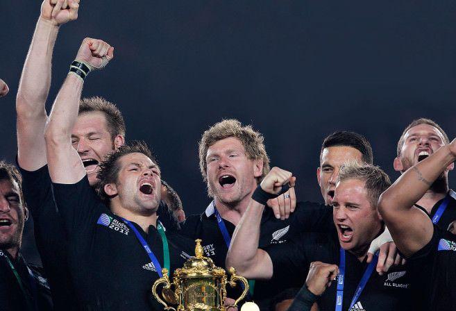 All Blacks winning World Cup