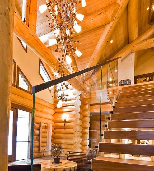 Sitka log home plans