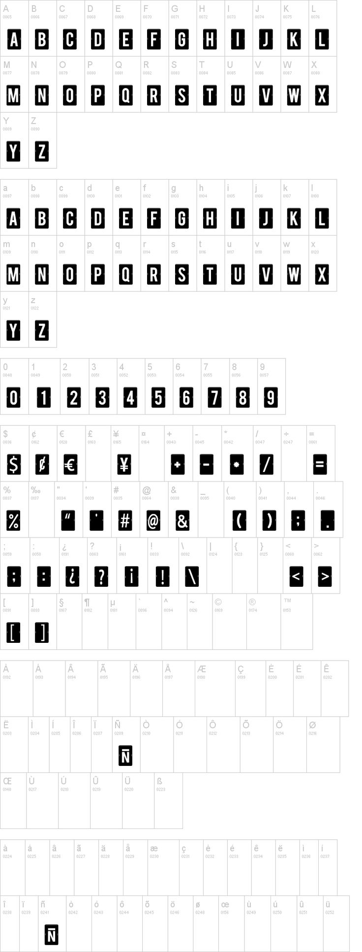 Calendar Note TFB Font | dafont.com