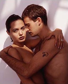 Angelina Jolie and Jonny Lee Miller, 1996 | Love ...