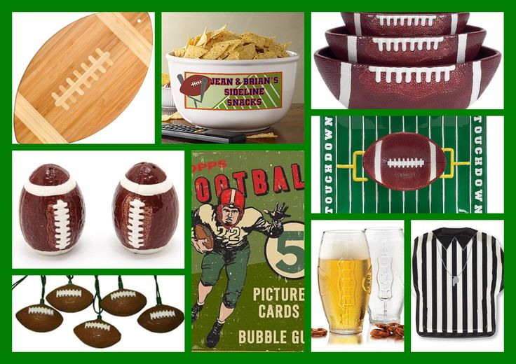 Football Theme Decor and Party Supplies