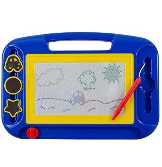 Kidsthrill Doodle Magnetic Drawing Board - Colorful Kids Writing Sketching Pad - Assorted Colors. The Kidsthrill Doodle Magnetic Drawing Board is the writing/drawing/game-playing toy. Let their creativity take flight with the Kidsthrill Doodle Magnetic Drawing Board. | eBay!