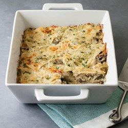 Spinach & Goat Cheese Chicken Tortilla Casserole - EatingWell.com