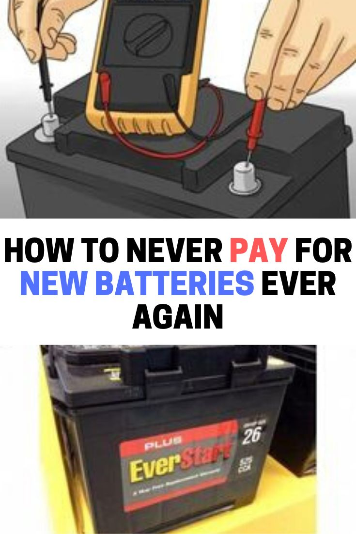 Learn how to bring dead batteries to life again easily