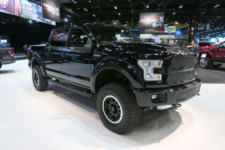 2016 Ford Shelby F 150 Black Ops Edition By Tuscany Front