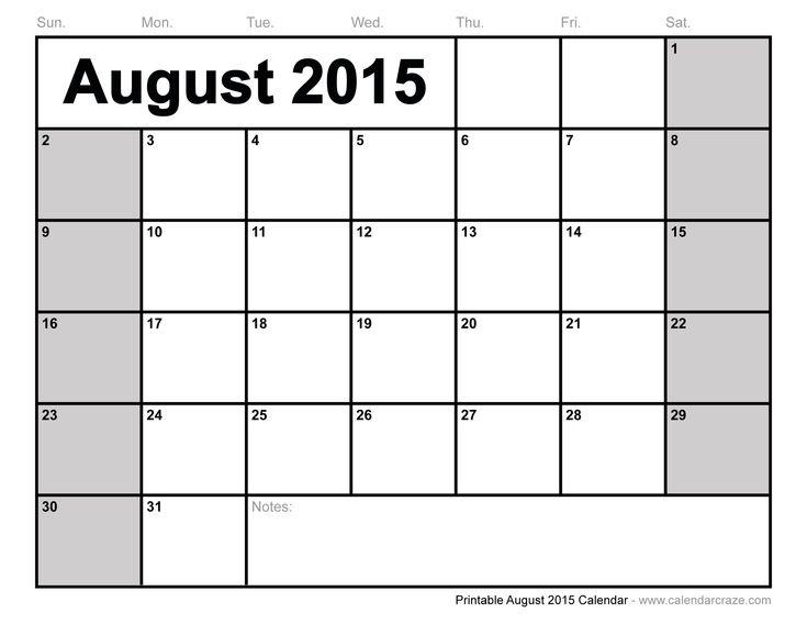 Blank calendar template 2015 hakkında Pinterestu0027teki en iyi 20+ fikir - printable blank calendar