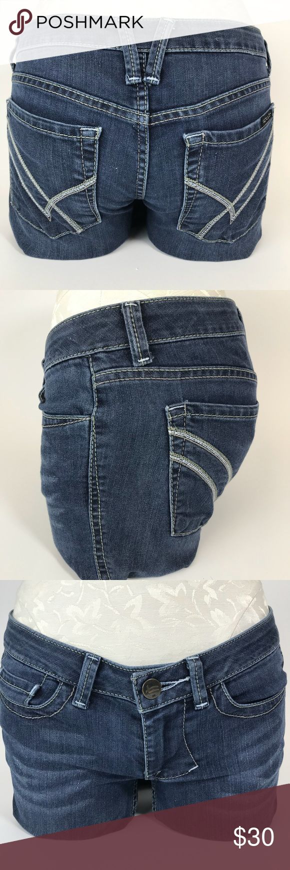 """William Rast jeans Good condition straight leg jeans 6.5"""" rise, 32"""" inseam ( small like of demarcation where they were tucked under for length. Shown in photos, considered in price) William Rast Jeans Straight Leg"""