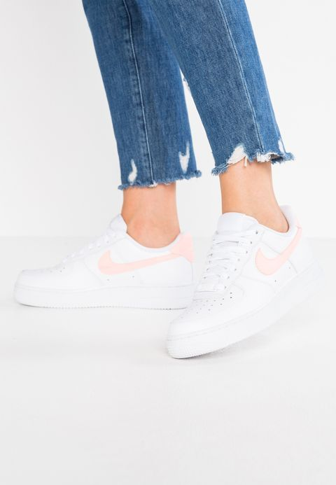 Nike Sportswear AIR FORCE 1 07 - Baskets basses - white oracle pink -  ZALANDO.FR  82460e24b0