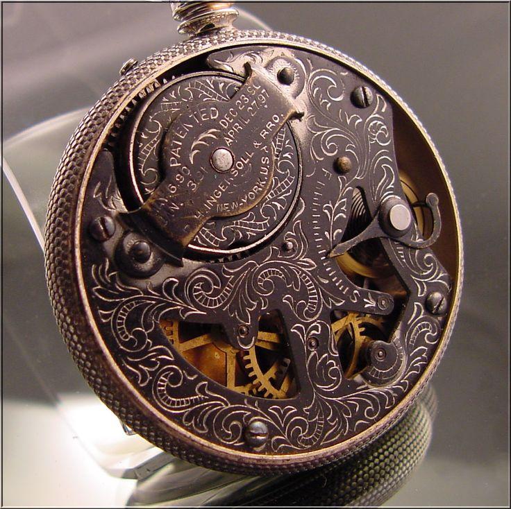 Ingersoll Private Label John Wanamaker Dollar Pocket Watch c.1898